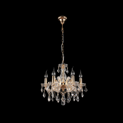 Crystal Lux-INES-SP6-GOLD-TRANSPARENT